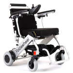 The PW-1000XL lightweight folding electric wheelchair is here